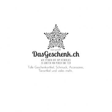 """Durch den Einkauf bei """"DasGeschenk.ch"""" können Sie uns auch unterstützen"""
